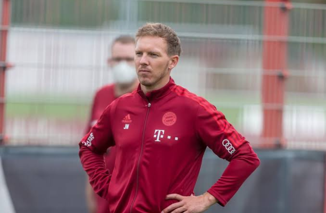 Footballers needs earpiece to hear their coaches while playing – Julian Nagelsmann